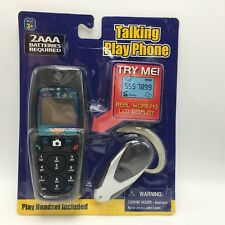NEW Talking Play Cell Phone Handheld with Headset LCD Display Pretend Ages 3+
