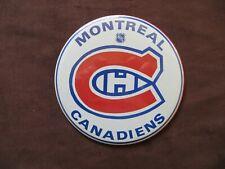 Montreal Canadiens Team Logo Pin Back Button Hockey Fan Souvenir