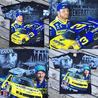 Dale Earnhardt Jr Sr 2010 Double Sided Nascar T-shirt Chase Authentics Size M