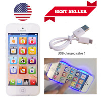 Baby iPhone Toddler Educational Toys 1 2 Year Old Tablet Learning Phone Voice