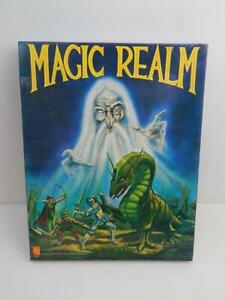 Vintage 1978 Avalon Hill MAGIC REALM Fantasy Adventure Board Game Un Punched NOS