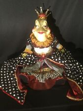 Katherine's Collection Wayne Kleski Retired Queen Emeralda Lilly Water Frog Doll