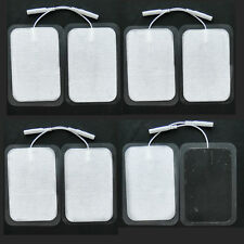 8x Large TENS Unit Electrode Pads Replacement Adhesive Gel for Muscle Stimulator