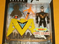 The New Batman Adventures: FORCE SHIELD NIGHTWING Action Figure 1998 Animated