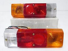 JDM Yue Loong Datsun 720 Truck D21 Rear Tail Lamp Light 80-86 1 Pair Lights NEW