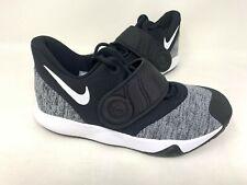 NEW! Nike Youth Boy's Trey 5 VI GS Basketball Shoes Blk/Wht #AH7172-001 82M tz