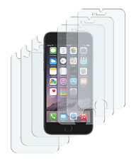 6 x Schutzfolie iPhone 6 Plus / 6S Plus Matt 3x Vorder- + 3x Rückseite Folie