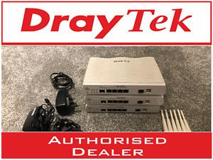 DrayTek Vigor 2832N ADSL2 3/4G/LTE Wireless Firewall VPN Router 4 x WAN + PSU