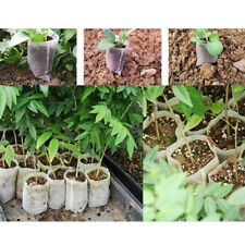 Garden Supplies Environmental Nursery Pots Seedling Raising Bag 100Pcs per Pack