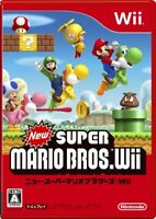 USED Wii New Super Mario Bros. Wii Normal Edition Japan import