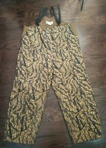 Columbia Camo Camoflage Quilted Insulated Hunting Bib Overall Mens Size XXXL 3XL