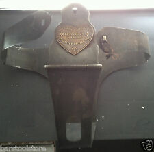 Rare Dr Polasky's Metal Bondage Chastity Belt With Lock + Key Vintage Like