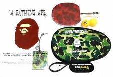 A BATHING APE Table Tennis Set Shakehand Racket Case Ballx2 Fast Ship Japan EMS