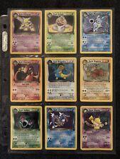 Pokemon Team Rocket COMPLETE SET (83/82)