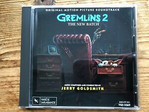 GREMLINS 2: THE NEW BATCH (Jerry Goldsmith) OOP 1990 Score Soundtrack OST CD NM