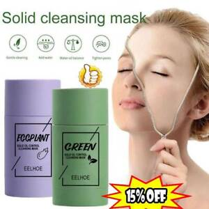 Green Tea Purifying Clay Stick Mask Anti-Acne Blackhead Remover Cleansing