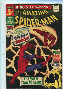 The Amazing Spider-Man King Size #4 Fine The Web And The Flame   Marvel  *SA