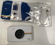 Polaroid Snap Instant Camera - White Inc New Case