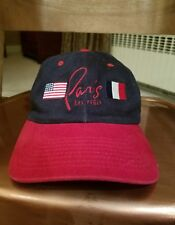 Paris Las Vegas embroidered 100% cotton adjustable baseball cap