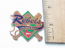 North Texas Rebels Baseball Lapel Pin (#143)