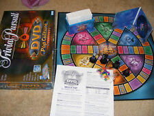 Trivial Pursuit Pop Culture DVD Game For Adults 2003