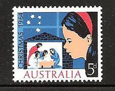 Australia # 384 Mnh Christmas 1964