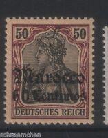 Deutsche Auslandspostämter Marokko 28 , * ,
