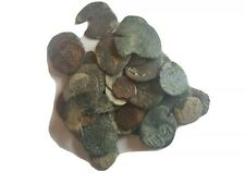 34 Medieval European Coins. Uncleaned.  Unresearched    *7