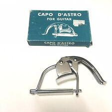 Capo D'Astro DASTRO For Guitar Vintage VTG NIB