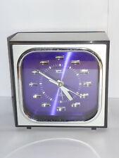 Fashion 2 jewels Japan réveil mécanique vintage,vintage mechanical alarm clock.