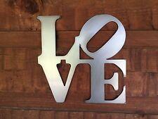 Imperfect Love     Crooked O   Metal Wall Art Home Decor Outdoor Patio Garden