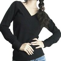 Cashmere Sweater Jumper Blouse Winter Top Womens Ladies wool pullover UK sz 8-18