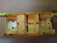 Vintage, Structo, Thunderbolt Dirt Tracker, Car, Yellow, Parts