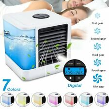 Cooling Mini Air Conditioner Fans Bedroom Artic Cooling Fans 7 Backliit 5 Speed