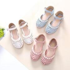 Girl's Summer Baby Children Beach Shoes Girl Sandals Princess Hollow Shoes