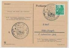 Sonderstempel DRESDEN A20 4.11.60, 100 Jahre Zoo Dresden (26155)