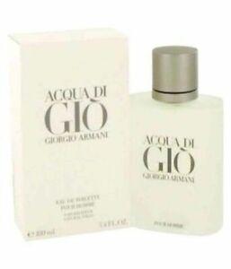 Armani Perfume Acqua Di Gio Cologne for Men's 100Ml EDT