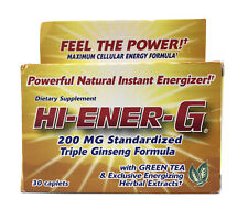 Windmill Health Products Hi-Ener-G Triple Ginseng Formula Supplement 30 Caplets