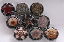 Magnet Lot Set of 9 Medal Order Socialist Yugoslavia Labor Flag Merit Partisan A