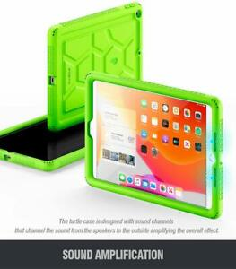 Apple iPad 10.2 2019 Tablet Case, Soft Gel Protective Back Silicone Cover Green