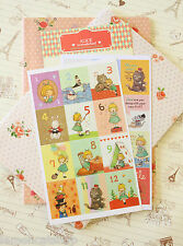 Alice in Wonderland Stamp Stickers cute cartoon planner diary journal sticker