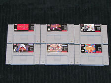 SNES Super Nintendo Brand New Excellent Condition Video Game Repros