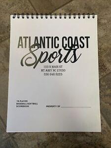 Baseball/Softball Scorebooks