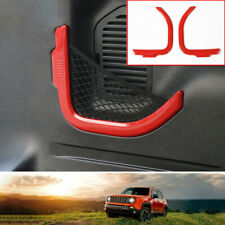 Fit For jeep Renegade 2016-2020 Plastic red rear door trunk Net bag cover frame