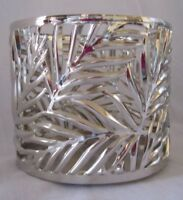 Bath & Body Works 3-Wick 14.5 oz Candle Sleeve Holder PALM LEAVES New