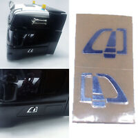1:14 L & R Car Door Handle Sticker for Tamiya Scania 620 470 RC  Tractor Truck