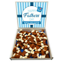 Happy Fathers Day Pint Pots Beer Sweets Gift Box Hamper 1kg Sweet Dad Father