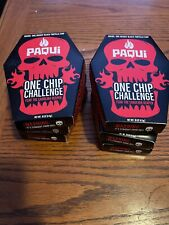 Six (6) paqui one chip challenge (lot of Six Boxes Including Chip)