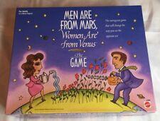 NIB, Men Are From Mars, Women Are From Venus Board Game - Men vs. Women