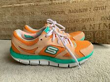 SKECKERS SHAPE UPS TRAINERS SIZE UK 2.5
